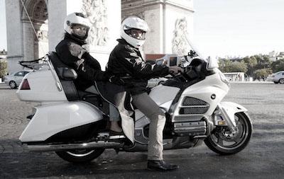 Taxi moto a Paris pour une course plus fluide