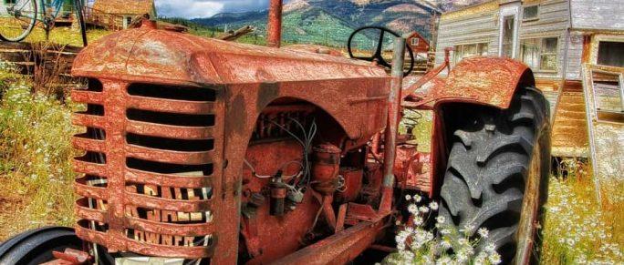 Huiles des tracteur ancien
